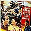Macdonald Carey, Wendell Corey, and Ellen Drew in The Great Missouri Raid (1951)