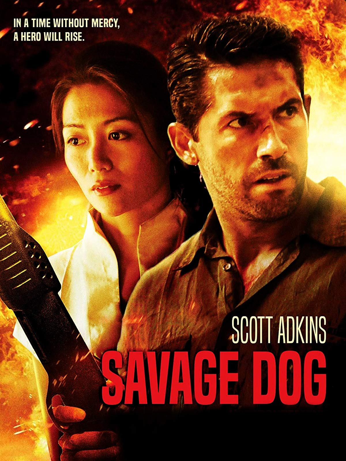 Scott Adkins and JuJu Chan in Savage Dog (2017)