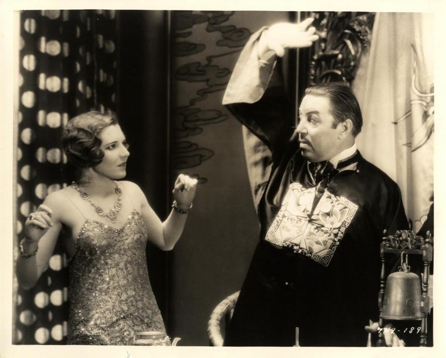 Jean Arthur and Warner Oland in The Mysterious Dr. Fu Manchu (1929)