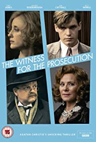 Kim Cattrall, Toby Jones, Andrea Riseborough, and Billy Howle in The Witness for the Prosecution (2016)