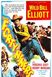 The Forty-Niners Poster