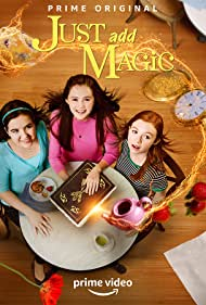 Kelly Ripa, Aubrey K. Miller, Olivia Sanabia, and Abby Donnelly in Just Add Magic (2015)
