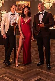 Ryan Reynolds, Dwayne Johnson, and Gal Gadot in Red Notice (2021)