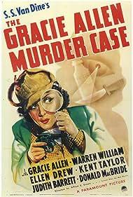 Gracie Allen in The Gracie Allen Murder Case (1939)
