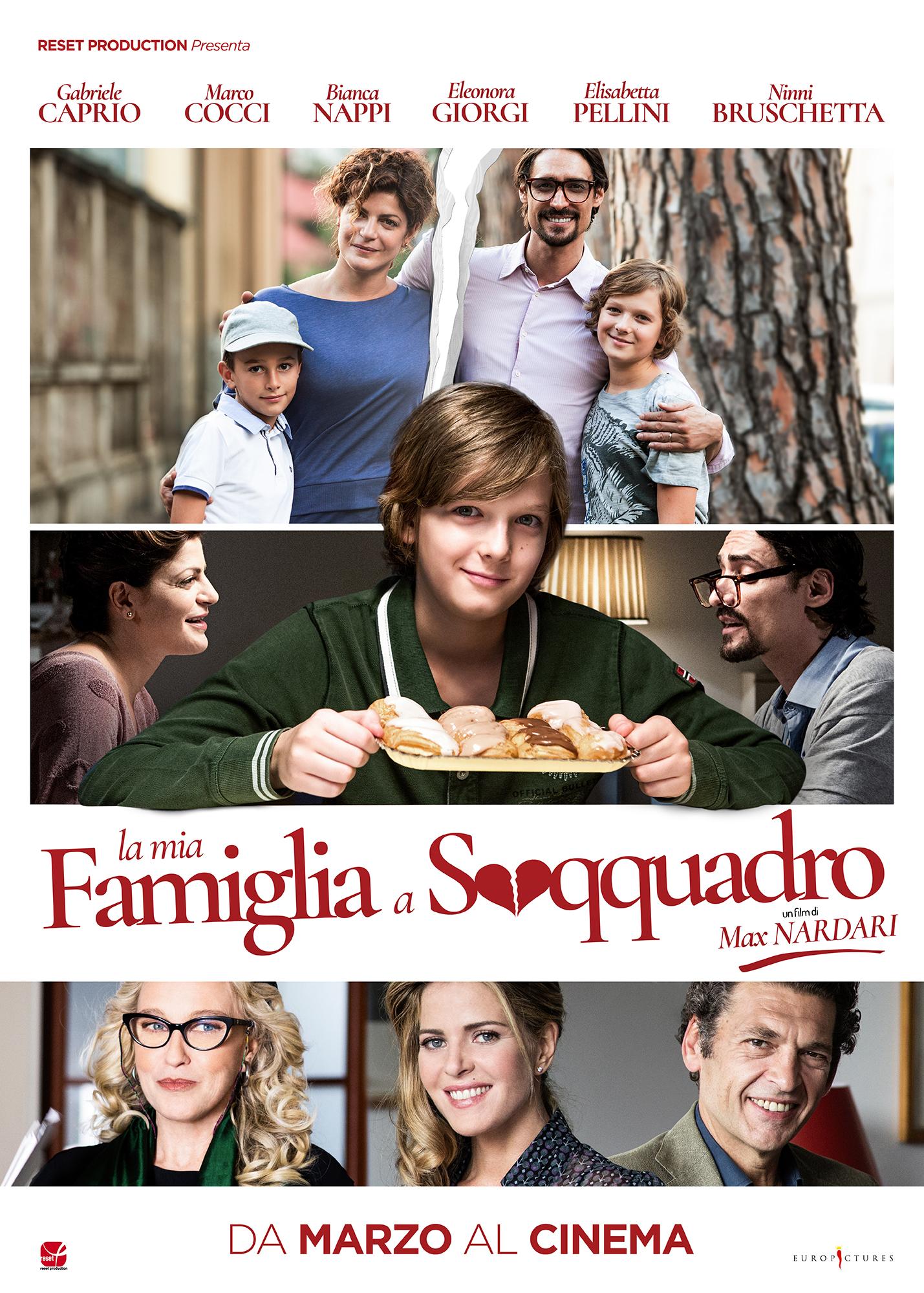 Bianca nappi la mia famiglia a soqquadro movie photocall in rome