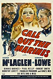 Call Out the Marines Poster