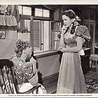 Deanna Durbin and Anne Gwynne in Spring Parade (1940)