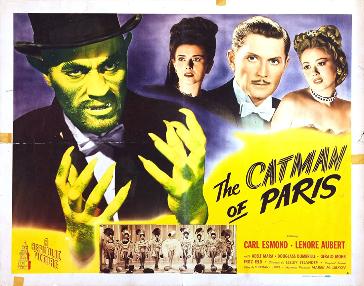 The Catman of Paris (1946)