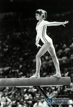 Nadia Comaneci in Jeux de la XXIème olympiade (1977)
