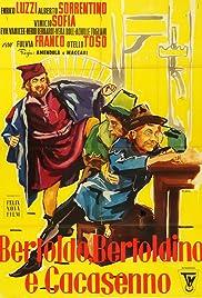 Bertoldo, Bertoldino and Cascacenno Poster
