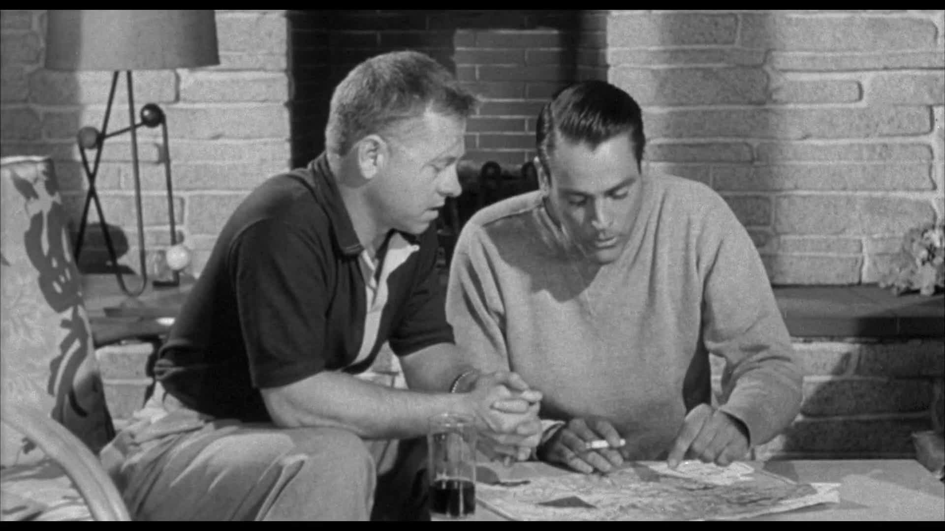Classic Old Movie : Drive A Crooked Road 1954