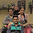 Manu Rishi Chadha, Mahie Gill, and Shardul Rana in Doordarshan (2020)