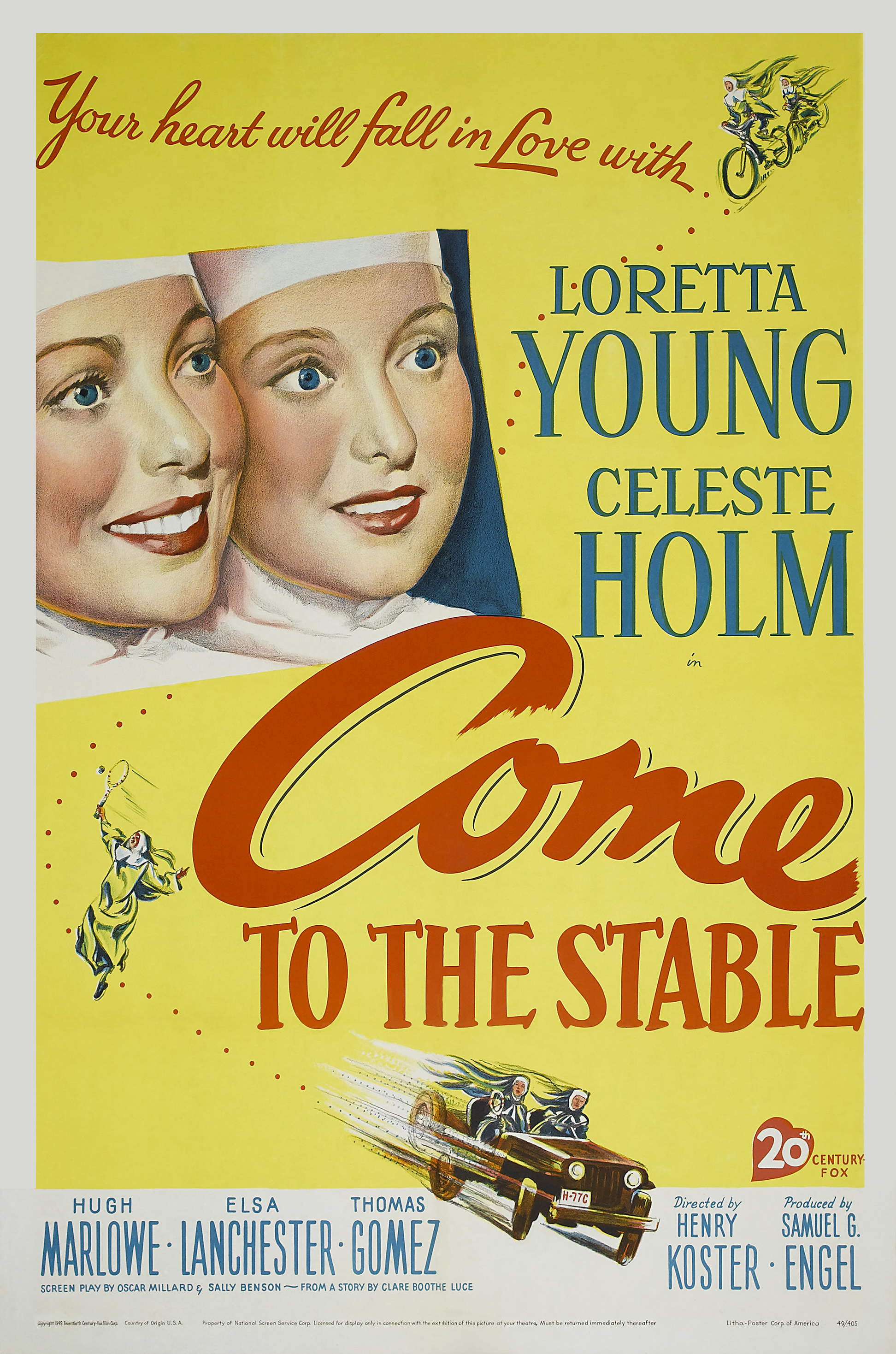 Come to the Stable (1949) - IMDb