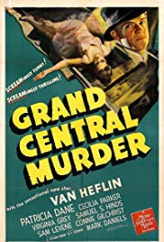 Grand Central Murder Poster