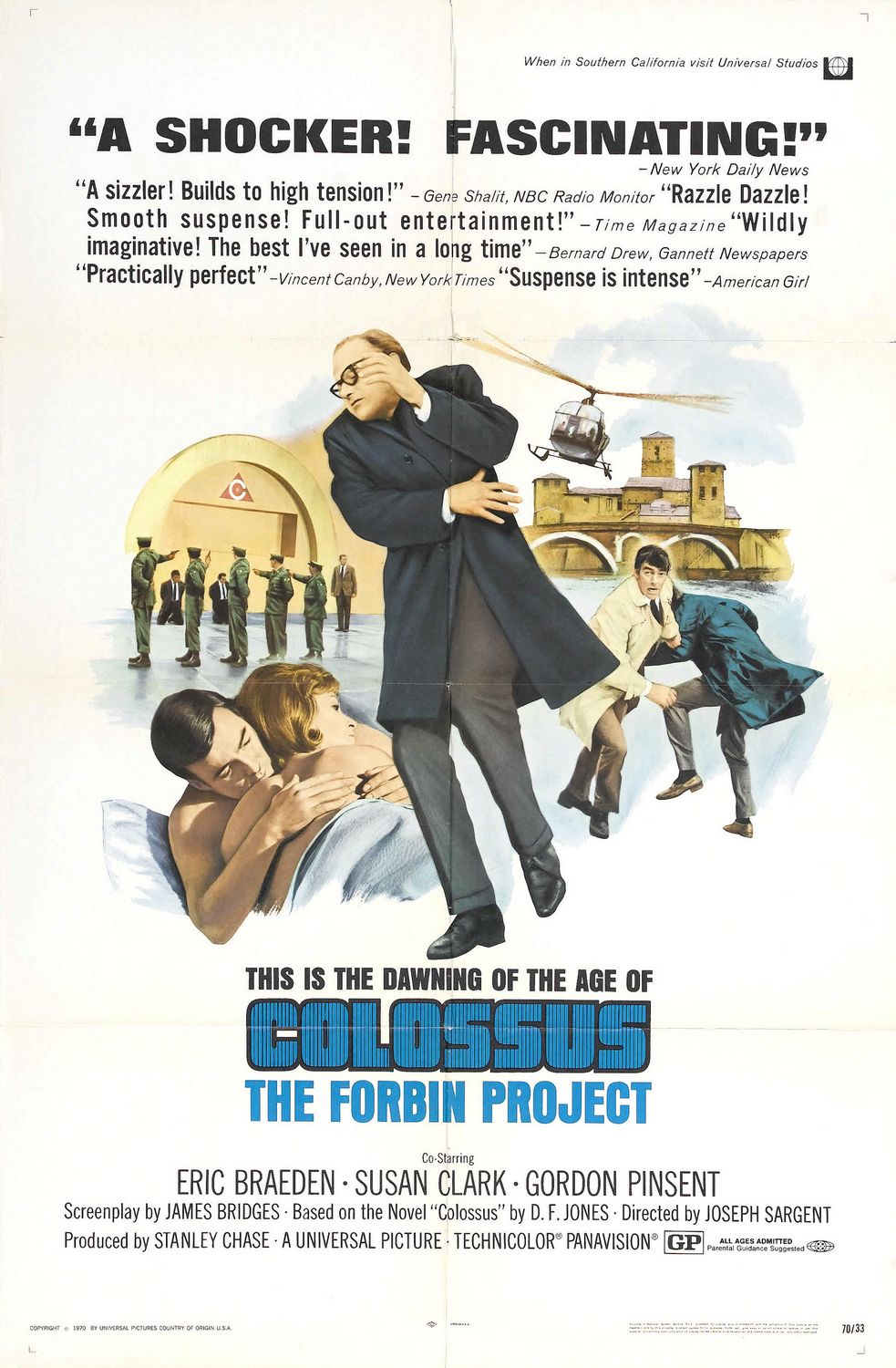 KOLOSAS. FORBINO PROJEKTAS / COLOSSUS: THE FORBIN PROJECT