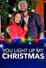 You Light Up My Christmas Poster