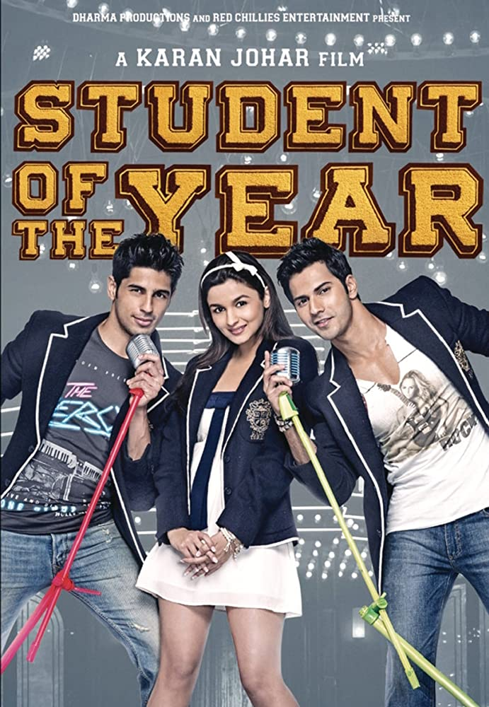 Student of the Year | 2012 | Hindi | 1080p | 720p | BluRay