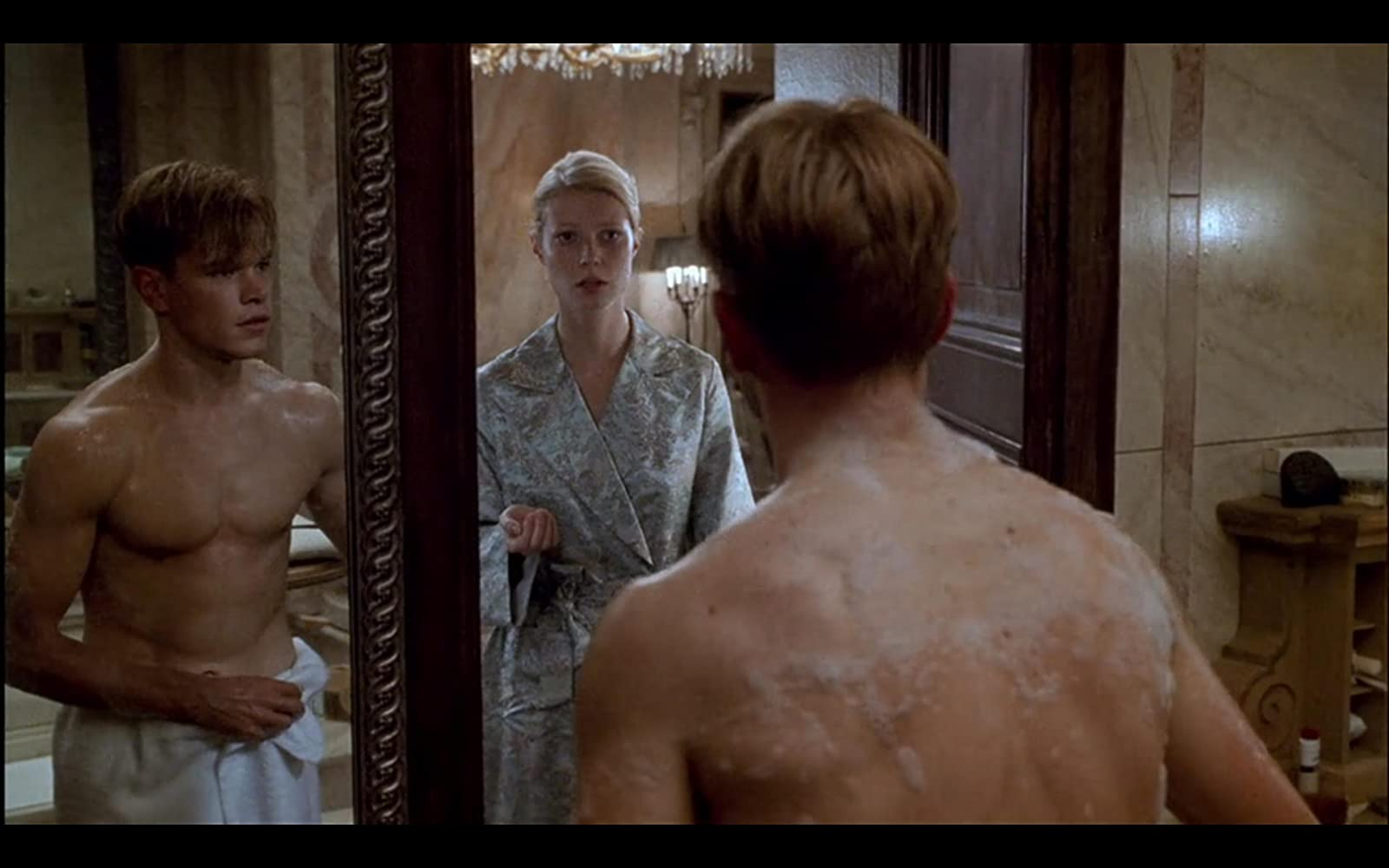 Matt Damon and Gwyneth Paltrow in The Talented Mr. Ripley (1999)