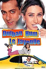 Karisma Kapoor and Salman Khan in Dulhan Hum Le Jayenge (2000)
