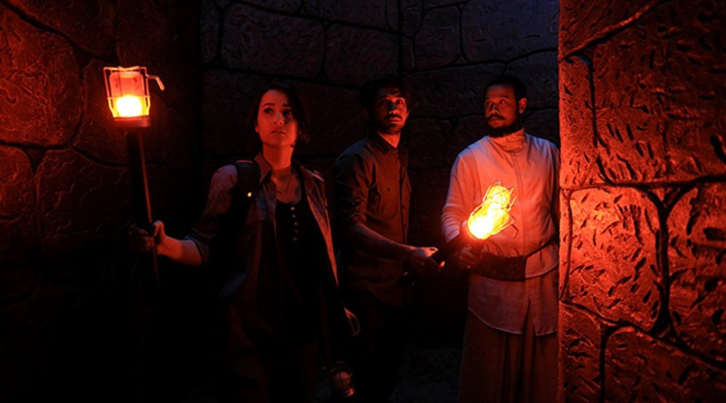 Adegan dalam film Gerbang Neraka