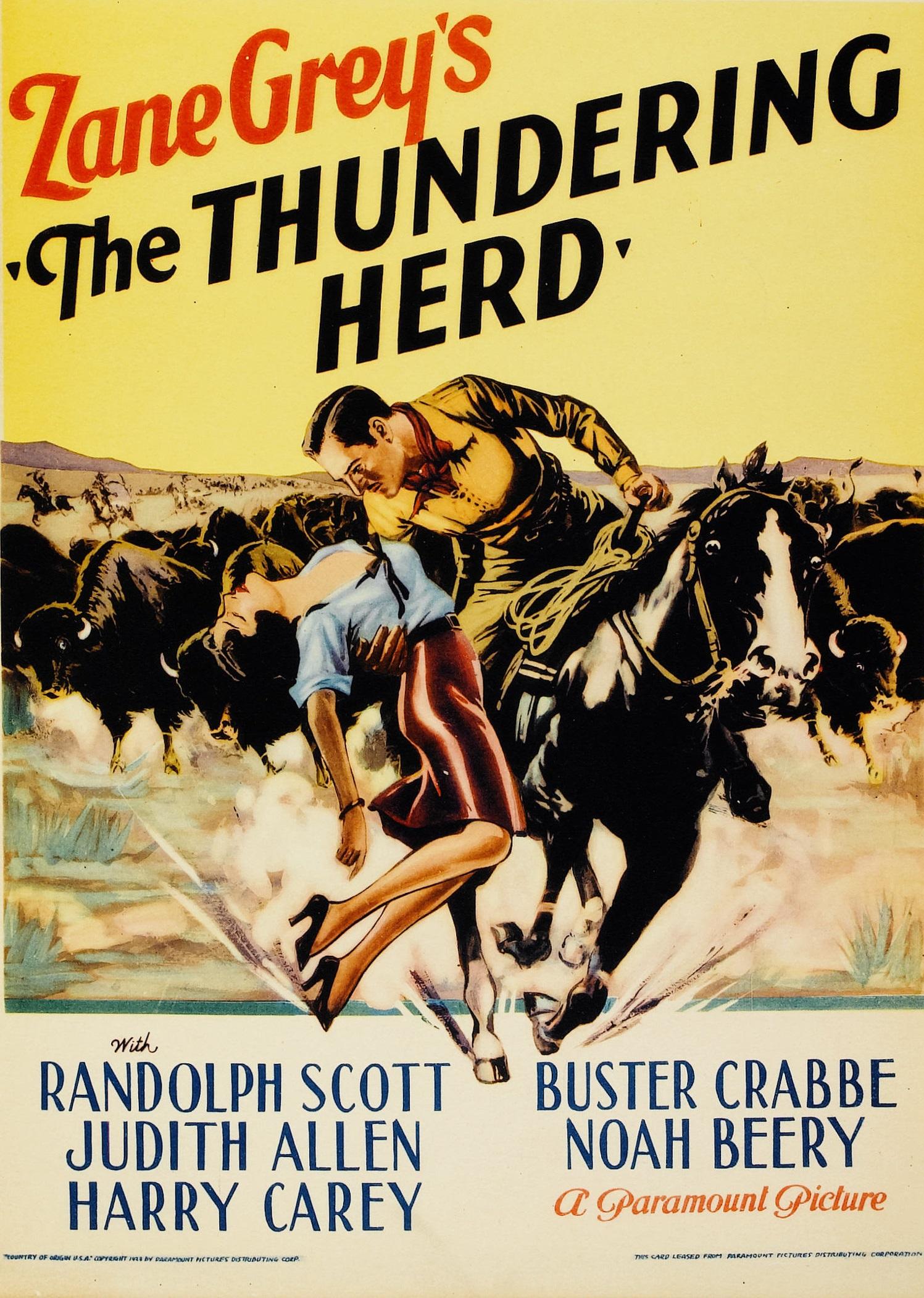 The Thundering Herd (1933) - IMDb