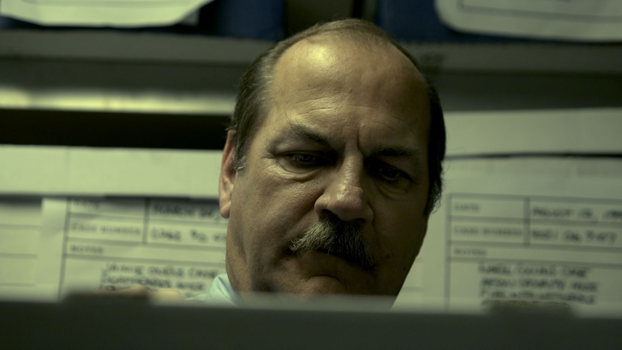 Dave Parke in Visible Scars (2012)