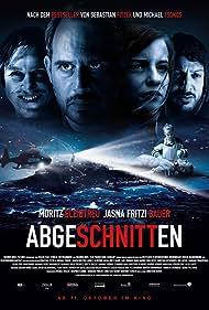 Moritz Bleibtreu, Fahri Yardim, Lars Eidinger, and Jasna Fritzi Bauer in Abgeschnitten (2018)