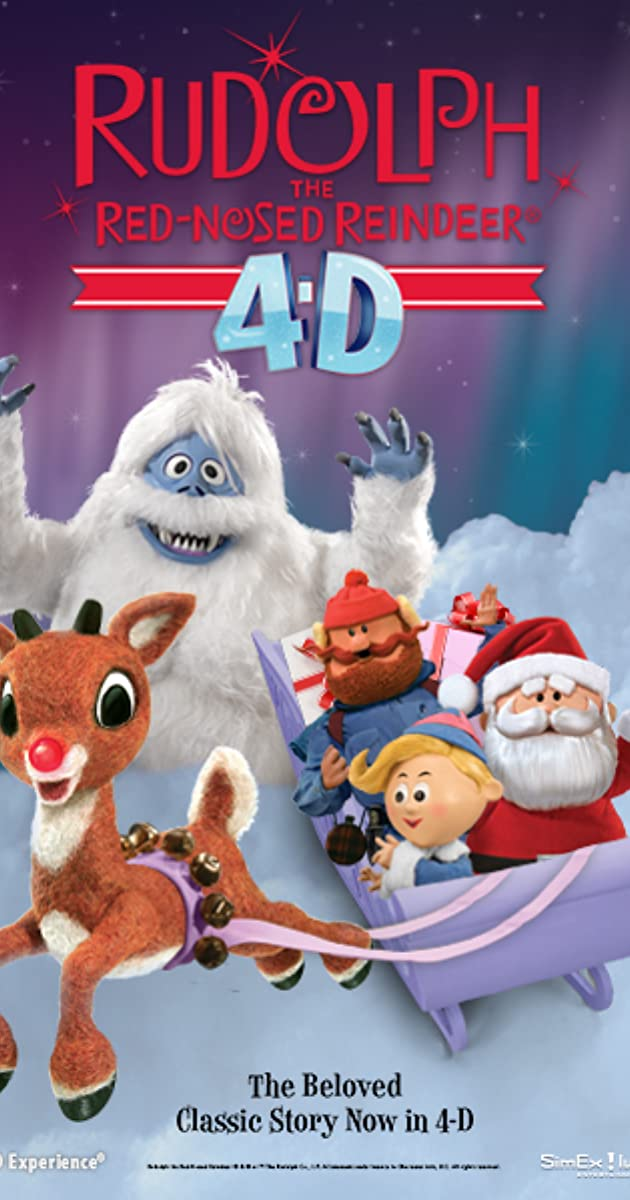 Rudolph Christmas Movie Characters.Rudolph The Red Nosed Reindeer 4d Attraction 2016 Imdb