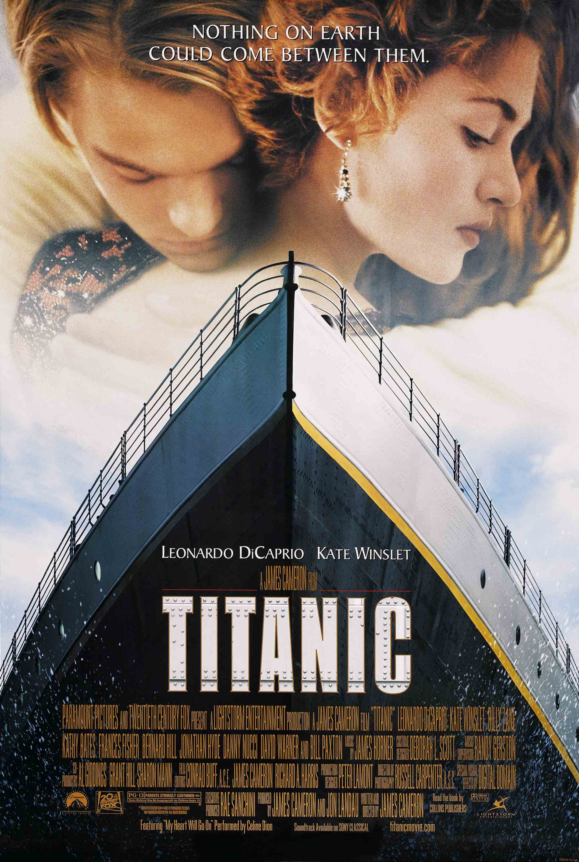 Image result for Titanic 1997 poster