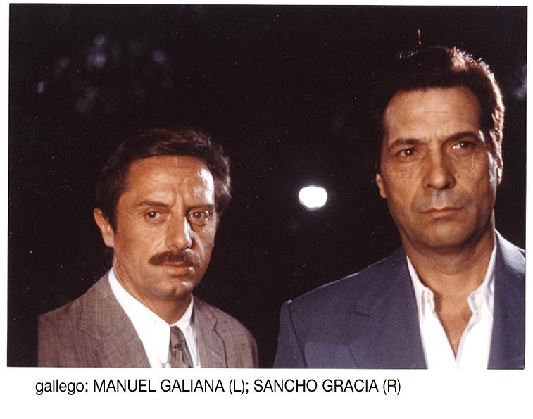Manuel Galiana and Sancho Gracia in Gallego (1988)