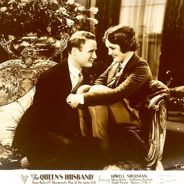 Mary Astor and Anthony Bushell in The Royal Bed (1931)