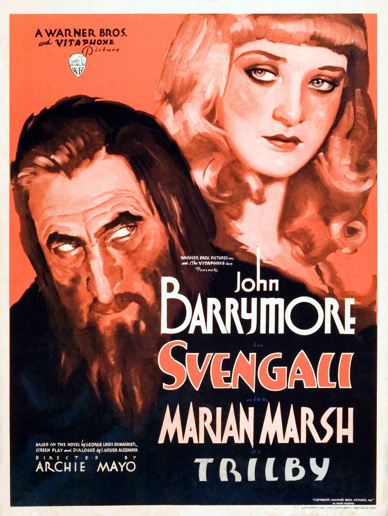 Image result for Svengali 1931