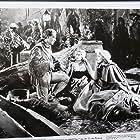Nelson Eddy, Jeanette MacDonald, and Cecilia Parker in Naughty Marietta (1935)