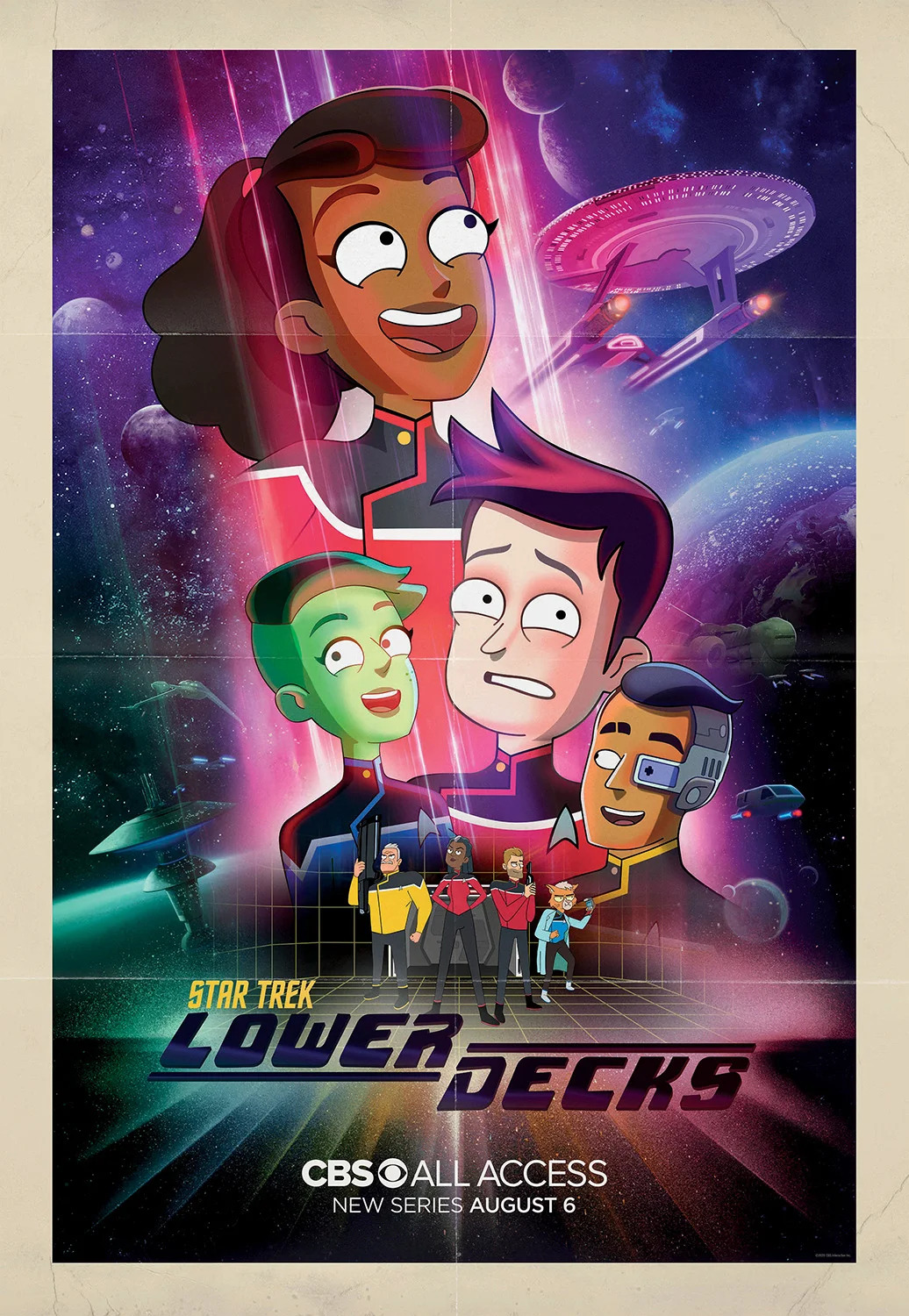 Star Trek: Lower Decks (2021) Hindi Season 1 Complete AMZN 700MB HDRip 480p Download