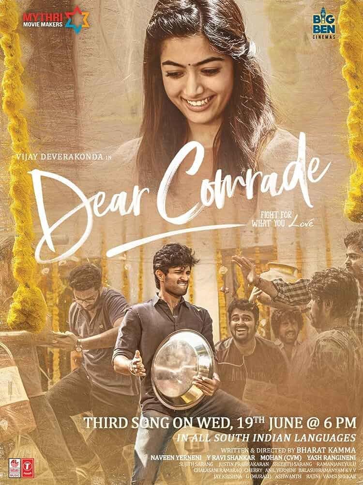 Dear Comrade (2019) Hindi Dubbed