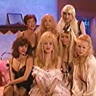 Monique Gabrielle, Linnea Quigley, Rhonda Shear, Darcy DeMoss, Jody Gibson, Debra Lamb, and Ray Hesselink in USA Up All Night (1989)