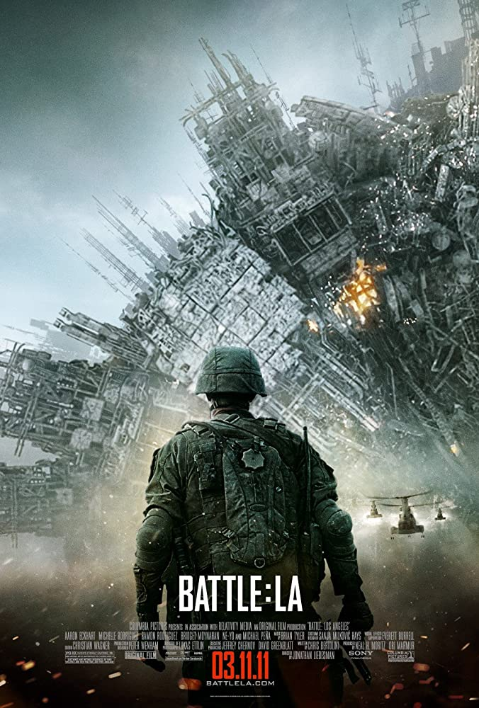 Battle Los Angeles (2011) Dual Audio Hindi 400MB BluRay 480p ESubs