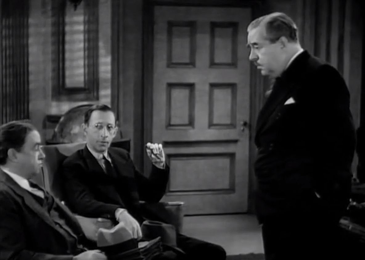 Harlan Briggs, Walter Connolly, and Charles Lane in Fifth Avenue Girl (1939)