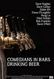 Comedians in Bars Drinking Beer Poster