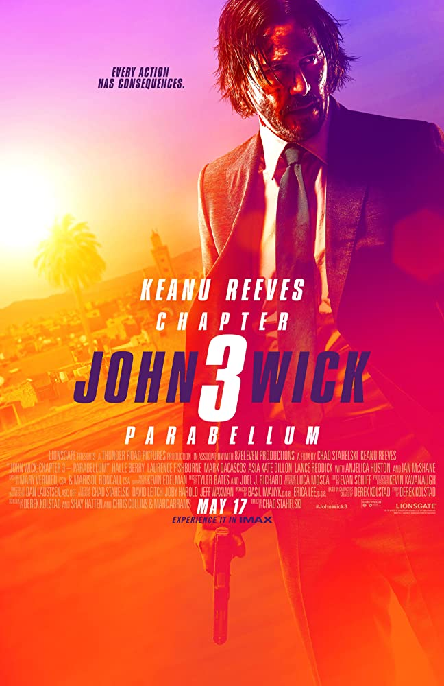 John Wick 3 2019 English 400MB BluRay ESub Download
