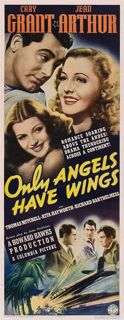 Cary Grant, Rita Hayworth, Jean Arthur, Richard Barthelmess, and Thomas Mitchell in Only Angels Have Wings (1939)
