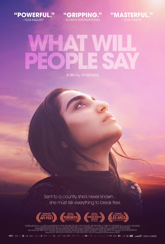 KĄ ŽMONĖS PASAKYS (2017) / WHAT WILL PEOPLE SAY