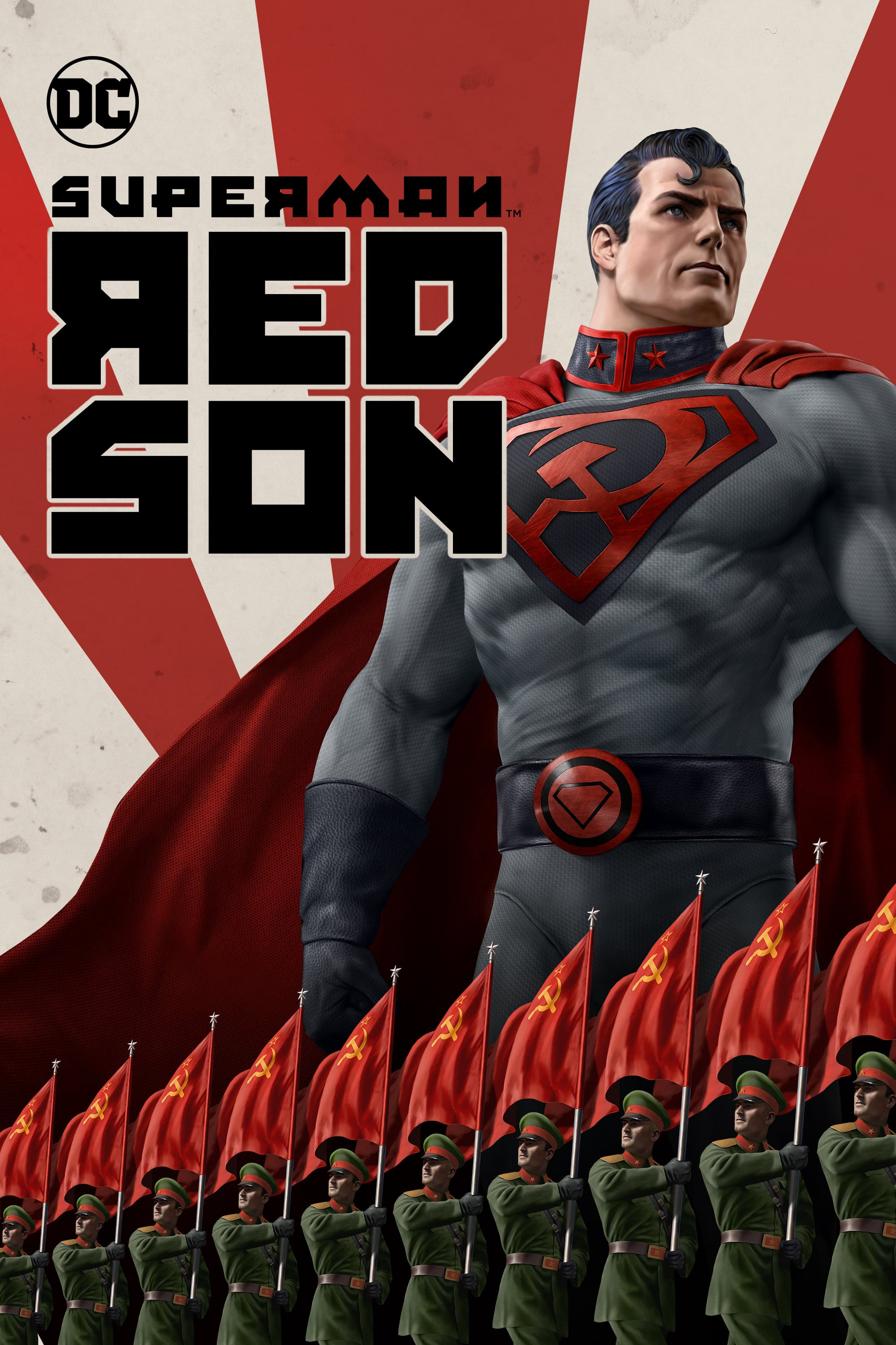 Image result for Superman red son poster