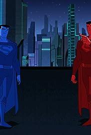 Superman Red vs. Superman Blue Poster