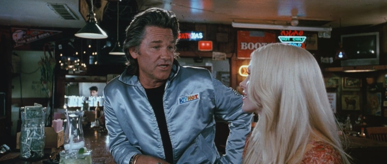Rose McGowan and Kurt Russell in Death Proof (2007)