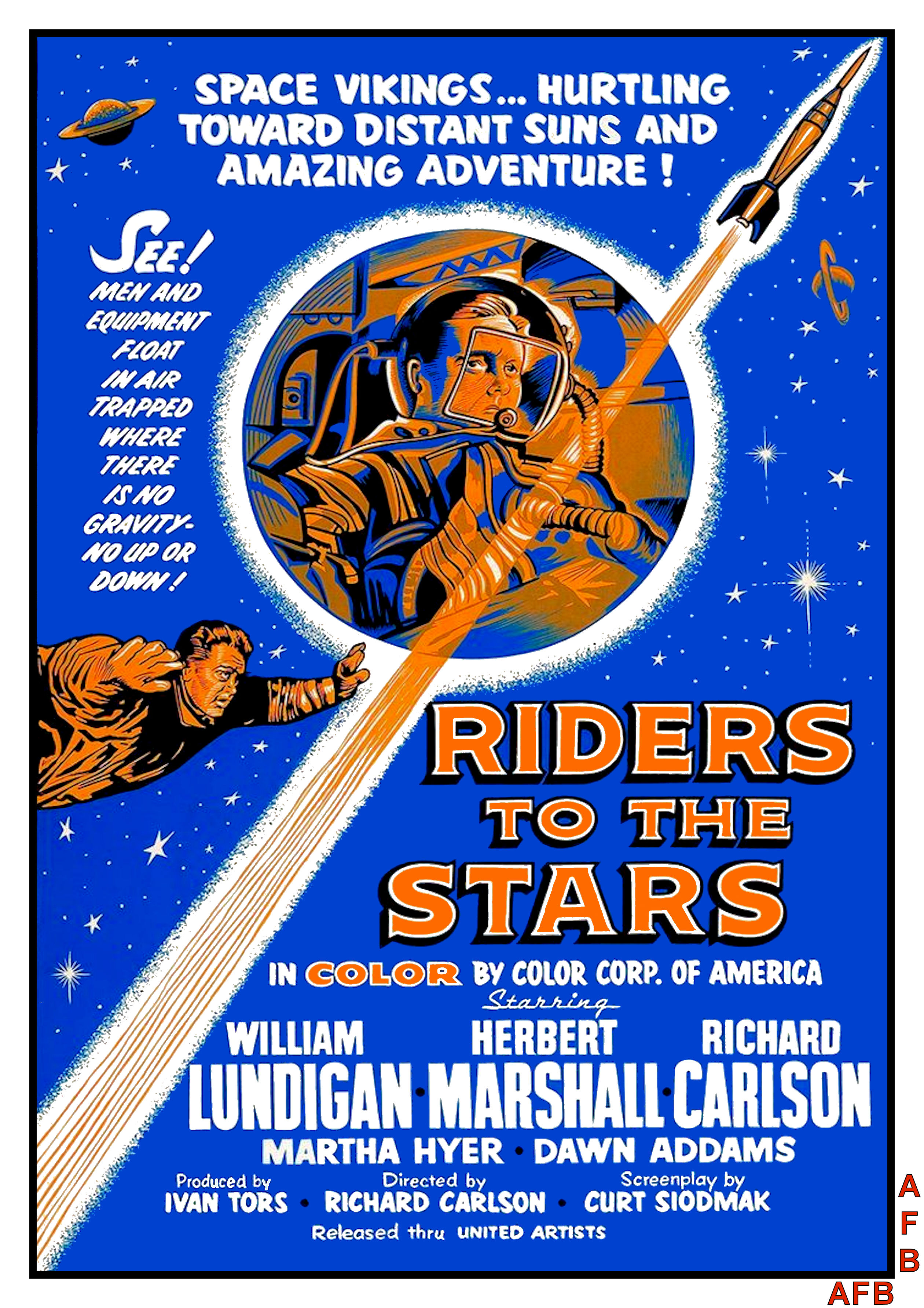 Riders to the Stars (1954)