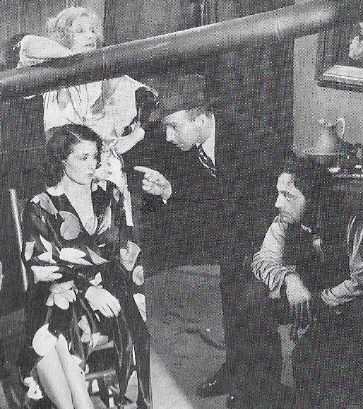 Evelyn Brent, Cecil Cunningham, Lloyd Nolan, and John Patterson in King of Gamblers (1937)