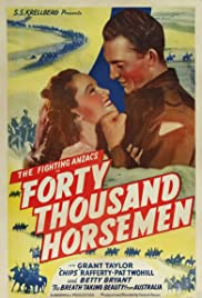 40,000 Horsemen Poster