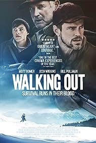 Bill Pullman, Matt Bomer, and Josh Wiggins in Walking Out (2017)
