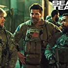 David Boreanaz, Neil Brown Jr., and Max Thieriot in SEAL Team (2017)